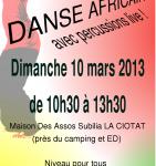 FLYERS-STAGE-DE-DANSE-AFRICAINE-10-MARS-LA-CIOTAT-SUBILIA-141x300