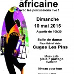 Stage de danse africaine 2015 Cuges Les Pins